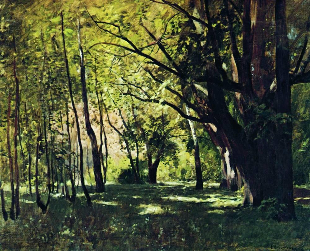 Bức tranh Trong công viên (Levitan Isaac)