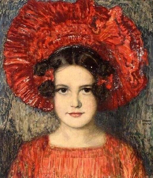 Bức vẽ con gái của Franz Von Stuck