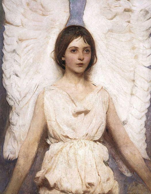 Thiên thần - Franz Von Stuck