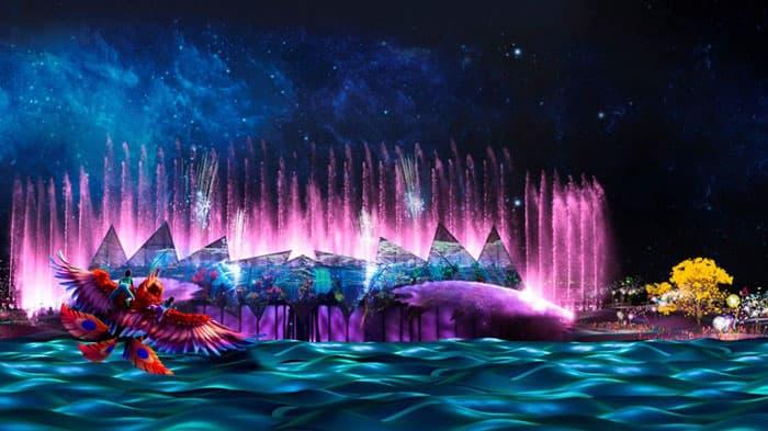 Nhạc nước wing of time Singapore