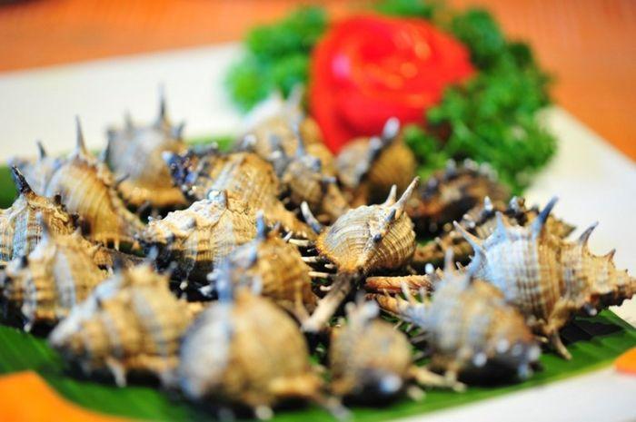 oc gai nuong phu quoc