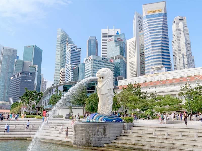 tuong Merlion Singapore