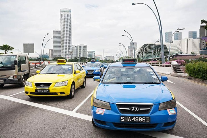 xe taxi o singapore