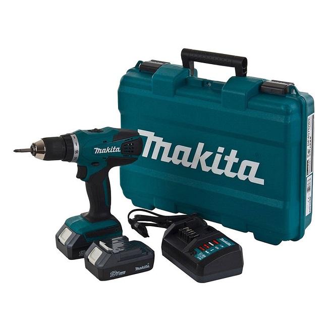 may khoan pin Makita DF457DWE 18V
