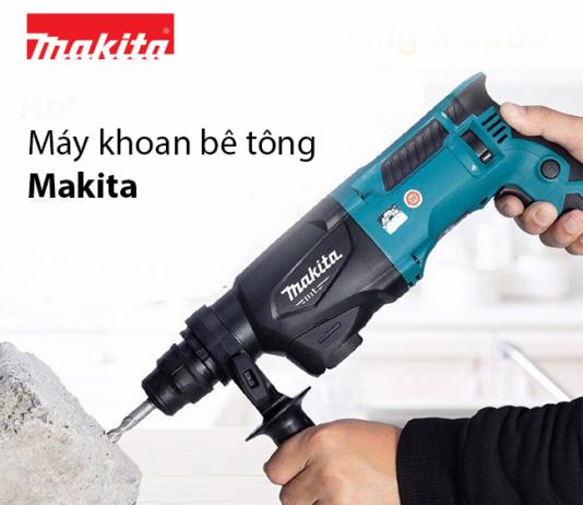 May khoan be tong Makita